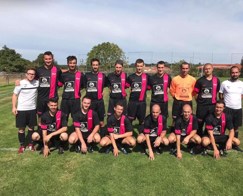 Equipe C Seniors fc saint laurent malvent joueurs de football